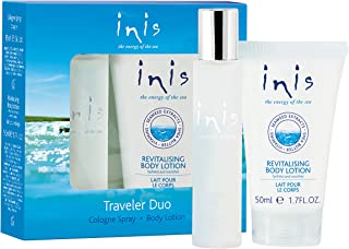 Inis the Energy of the Sea Cologne and Body Lotion Sampler Duo