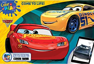 Disney Bendon Cars 3 Giant Coloring and Activity Book, 11