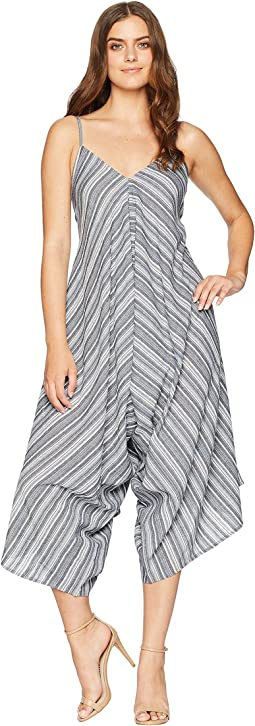 Charlize Striped Jumpsuit