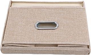 Générique Rlmobes Boîtes de Rangement Pliantes en Tissu Paniers de Rangement pour Salle de Bain Boîte de Rangement pour so...