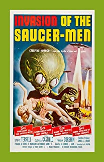 Retro Sci-Fi Journal, Invasion of the Saucer Men by Monkey up a Tree