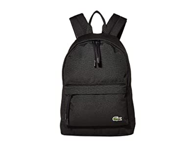 Lacoste Neocroc Small Backpack (Palm Grove/Veronese/Quiberon) Backpack Bags