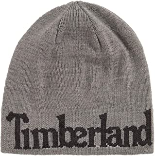 Timberland Men`s Reversible Logo Beanie