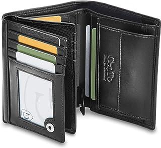 GenTo® Oslo Protección RFID y NFC - Billetera de Hombre con Compartimento para Monedas - Cartera espaciosa - Cartera de Ho...