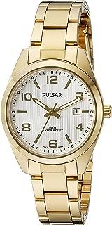 Pulsar Women's PJ2018X Every Day Value Analog Display Japanese Quartz Gold Watch
