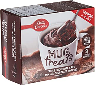 Betty Crocker Mug Treats Triple Chocolate Cake With Topping, 255 gm