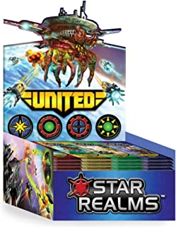 White Wizard Games Star Realms United Display Card Games