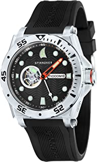 OVERBOARD Men Black Integrated Silicon Strap Watch - SP-5023-01