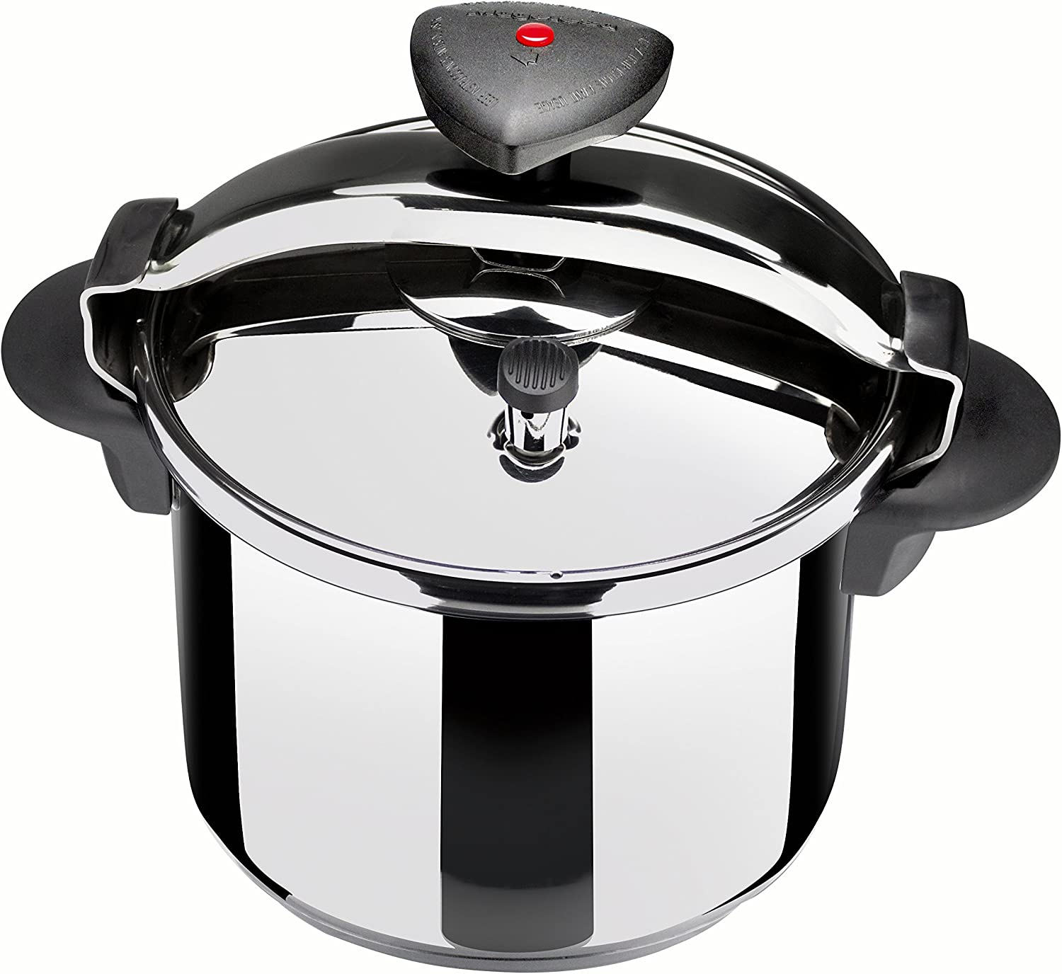 Magefesa 01OPSTACO04 Star R Stainless Steel F.P.C. Pressure Cooker, 4-Quart