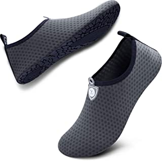 SIMARI Womens and Mens Water Shoes Quick-Dry Aqua Socks Barefoot for Outdoor Beach Swim Surf Yoga Exercise SWS001