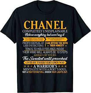 CHANEL Completely Unexplainable Shirt First Name Tee
