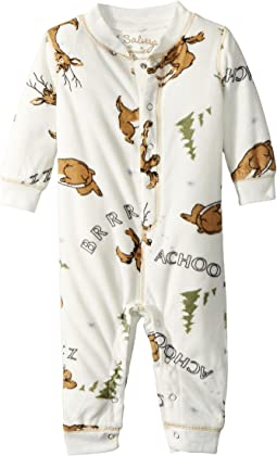 P.J. Salvage Kids - Fleece Moose Romper (Infant)