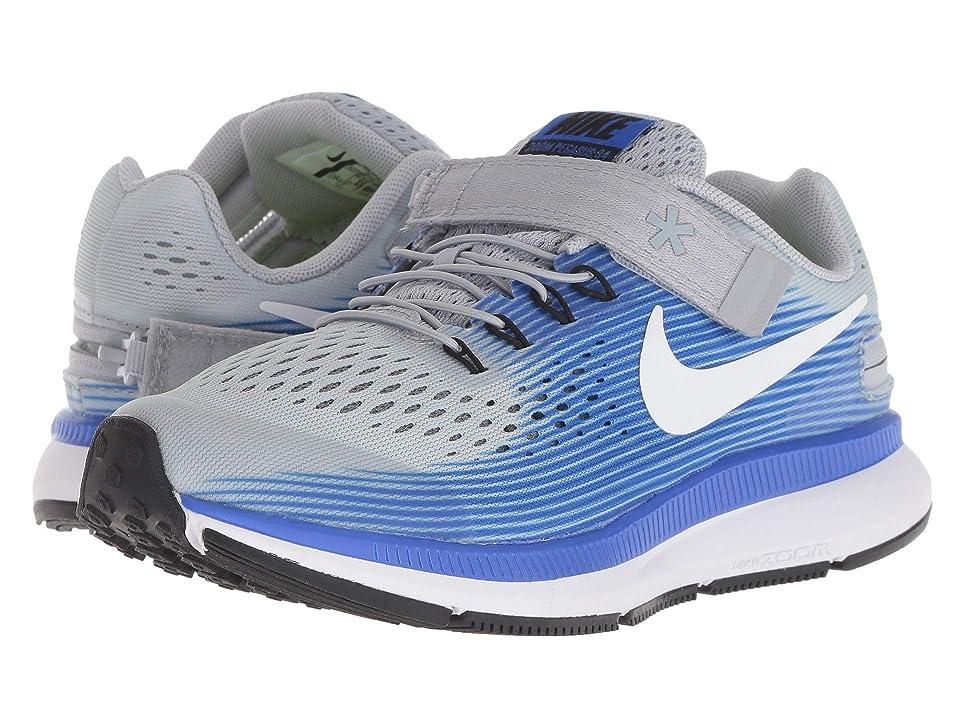 Nike Kids - Nike Kids Zoom Pegasus 34 FlyEase WIDE , Gray