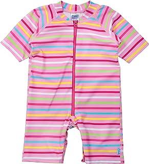 i play. Baby Girls One-Piece Swim Sunsuit