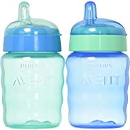 Philips Avent My Easy Sippy Cup, 9 Ounce, Blue/Green, Stage 2 (Colors May Vary)