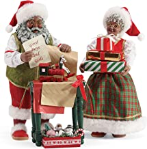 Department 56 Possible Dream Santas Christmas Traditions Wrapped and Ready Figurine, 10.5