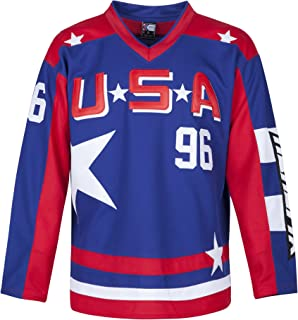 MOLPE Conway 96 USA Jersey S-XXXL Blue, 90S Hip Hop Clothing for Party, Stitched Letters and Numbers