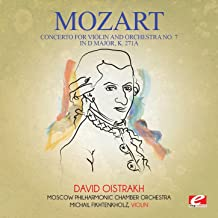 Mozart: Concerto for Violin and Orchestra No. 7 in D Major, K. 271a (Digitally Remastered)