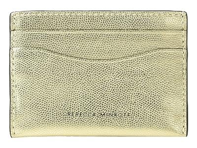 Rebecca Minkoff Card Case (Gold 1) Wallet