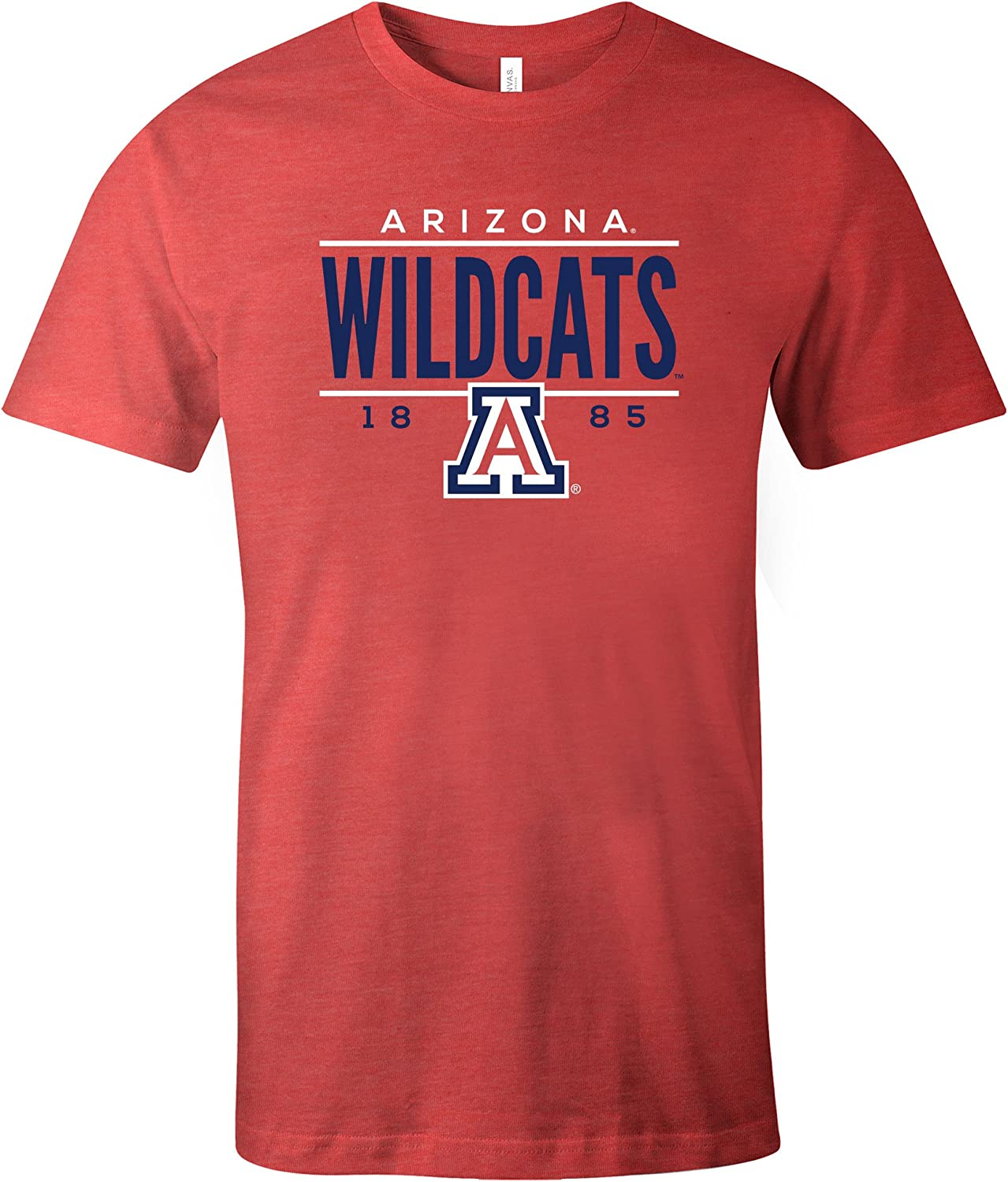 Image One NCAA Tradition Short Sleeve Tri-Blend T-Shirt