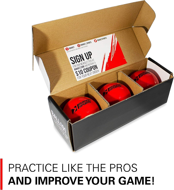 "Rukket 3pk Weighted Baseballs / Softballs   Heavy Balls for Hitting, Batting, Pitching Practice (1lb. /16oz. 3"" diameter) : Sports & Outdoors"