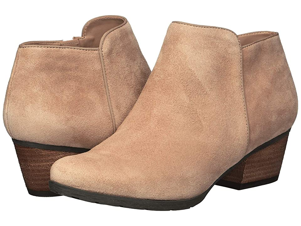 Blondo Villa Waterproof Bootie (Sand Suede) Women