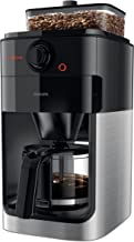 Philips Koffiezetapparaat Grind & Brew - Geintegreerde koffiemolen - Met glazen kan - Sterkte instellingen - Geschikt voor...