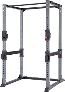 Bodycraft Power Rack LAT Attachment: Not Included, Dip Attachment: Included, Cable Crossover Attachment: Not Included