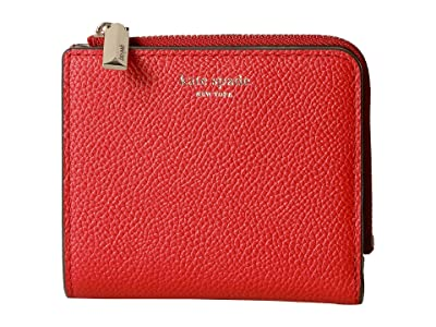 Kate Spade New York Margaux Small Bifold Wallet (Hot Chili) Bi-fold Wallet