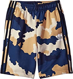 adidas Originals Kids Tko Aop Shorts (Toddler/Little Kids/Big Kids)