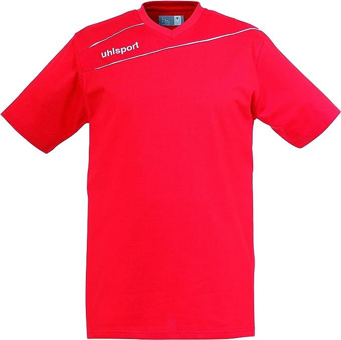 uhlsport Herren Bekleidung Teamsport Stream 3.0 Baumwoll T-Shirt