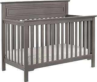 DaVinci Autumn 4-in-1 Convertible Crib in Slate | Greenguard Gold Certified