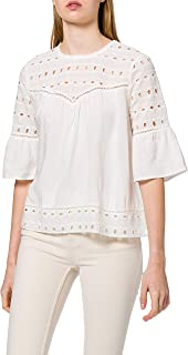 ONLY ONLIRINA EMB ANGLAISE DNM TOP NOOS dames bloes