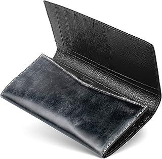 【GRACIA】二つ折り 財布 長財布 本革 ブライドルレザー