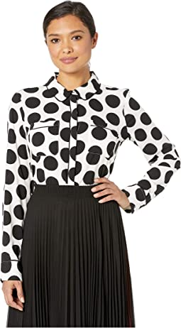 Long Sleeve Polka Dot