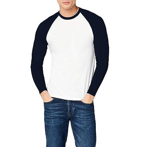 1f29e3d7 Fruit of the Loom Men's Baseball Classic Long Sleeve T-Shirt