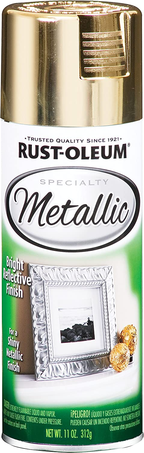 Rust-Oleum 1910830 Super beauty product restock quality top Spray Paint Free Shipping Cheap Bargain Gift Gold Each