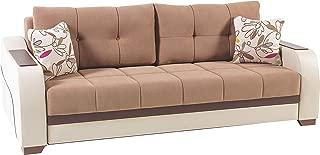 ISTIKBAL Multifunctional Furniture ULTRA Collection (Sofa Sleeper) OPTIMUM BROWN