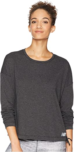 Heather Tech Long Sleeve Top