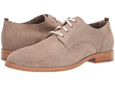 Cole Haan Feathercraft Grand Blucher Oxford (Desert Beige Suede) Men