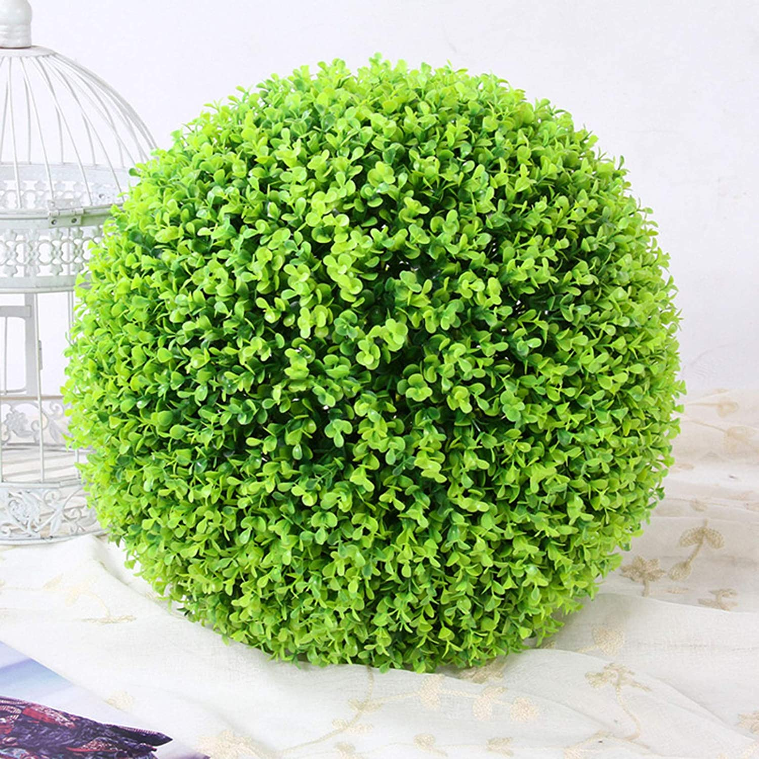LAHappy Artificial High quality Plants Grass Don't miss the campaign Ball G Simulation Milan Hanging