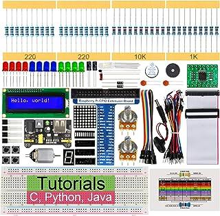 Freenove Super Starter Kit for Raspberry Pi 4 B 3 B+ 400, 285-Page Detailed Tutorials, Python C Java Code, 164 Items, 38 P...