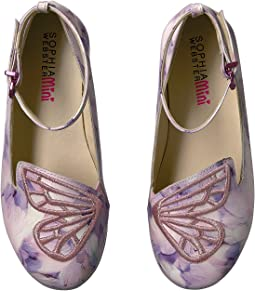 Sophia Webster Bibi Butterfly Feather Print (Toddler/Little Kid)