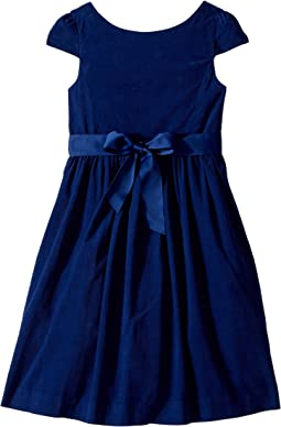 Polo Ralph Lauren Kids - Corduroy Fit-and-Flare Dress (Little Kids)