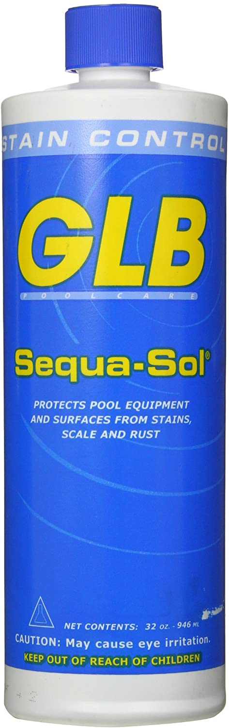 GLB Swimming Pool Sequa Sol 1 Bottle Clearance SALE Limited Brand new time qt. Stain Control