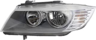 Valeo 44811 Left Side Replacement Headlight Assembly for BMW 3-Series (E90/E91)