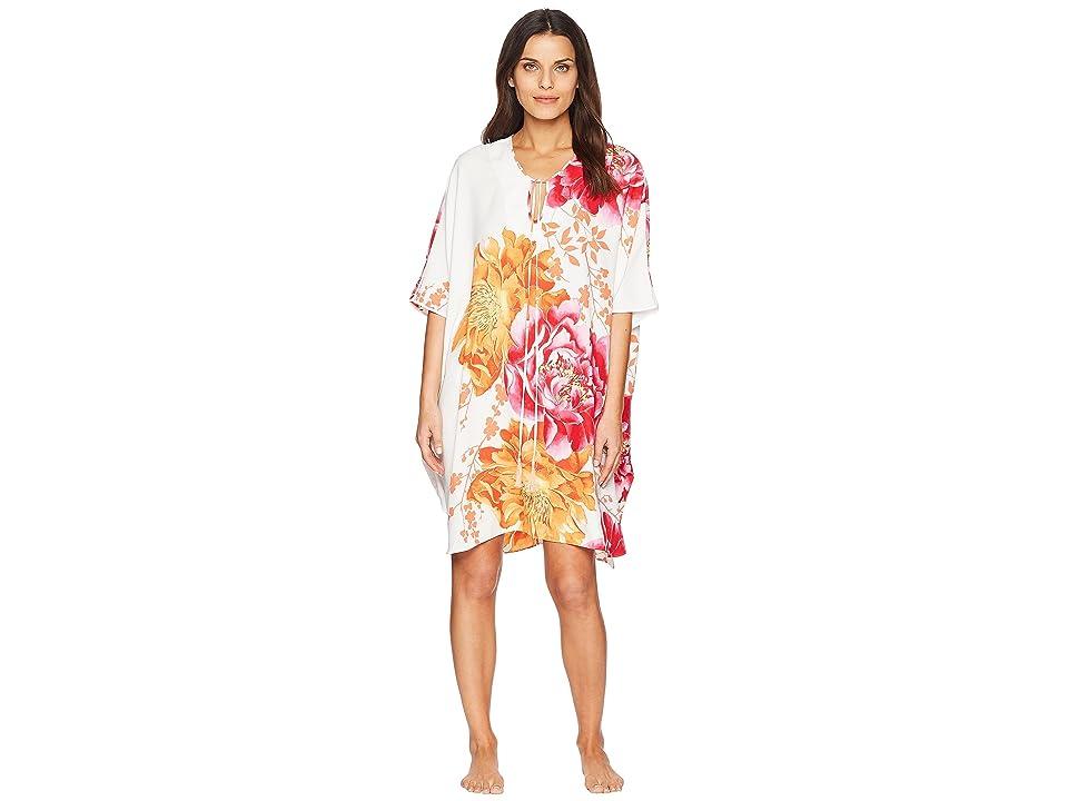 Natori Bali Caftan Dress (Warm White) Women