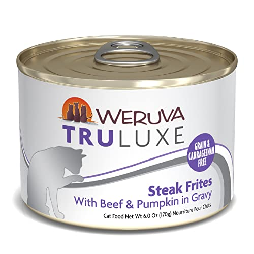 Weruva TruLuxe Grain-Free Canned Cat Food