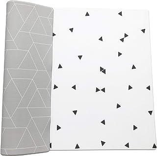 Ofie Mat by Little Bot, Soft Baby Play mat, Reversible Foam Floor mat, Waterproof, 6.5 ft x 4.5 ft, Durable and Non-Toxic (Zen line, Large)