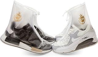 Cubiertas impermeables para zapatos, reutilizables, para hombres, mujeres, niños, antideslizantes, resistentes a la lluvia